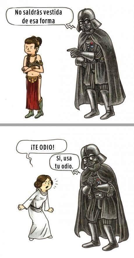 Cosas de padres: | 22 Chistes que solo los amantes de Star Wars entenderán