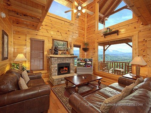 Pigeon Forge Cabin - Picture Perfect - 1 Bedroom