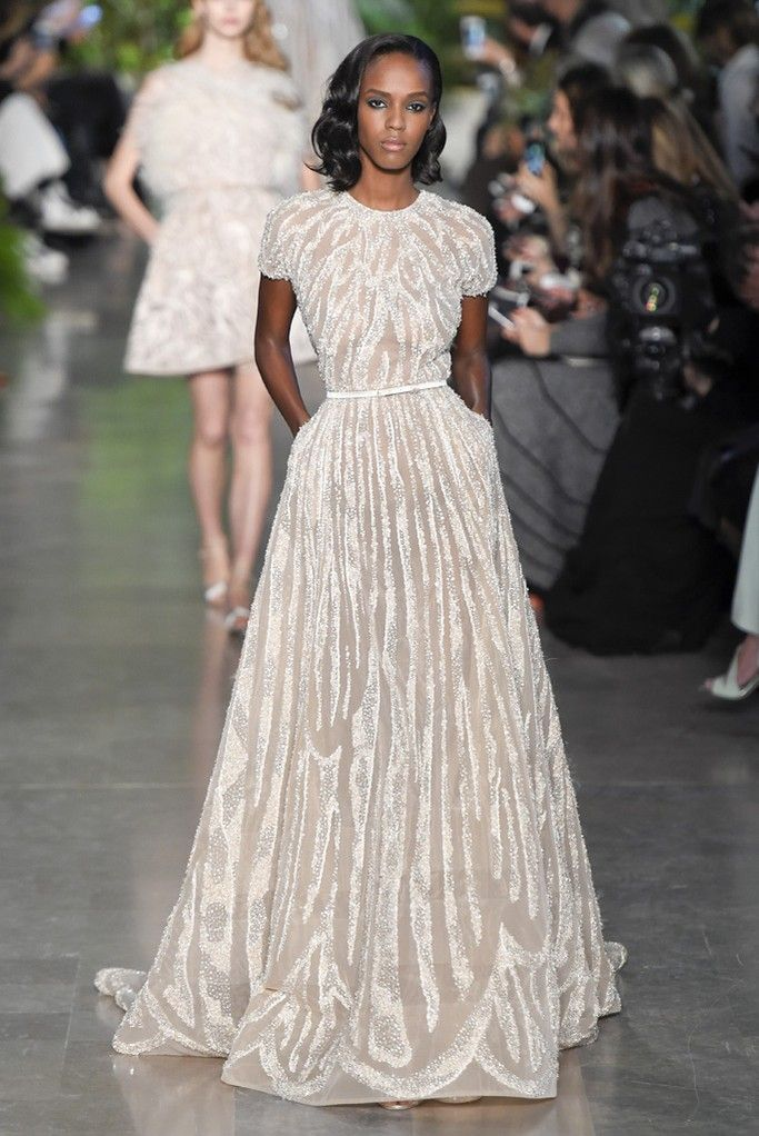 Elie Saab Couture Spring 2015 - Slideshow - Runway, Fashion Week, Fashion Shows, Reviews and Fashion Images - WWD.com: