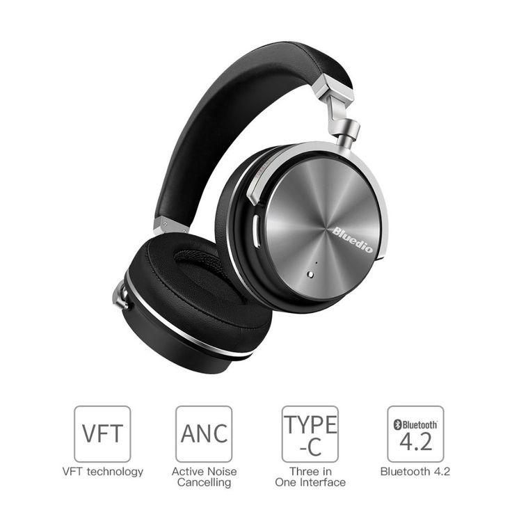2017 New Headphone Earphones <b>Bluedio</b> T4S <b>Bluetooth</b> ...