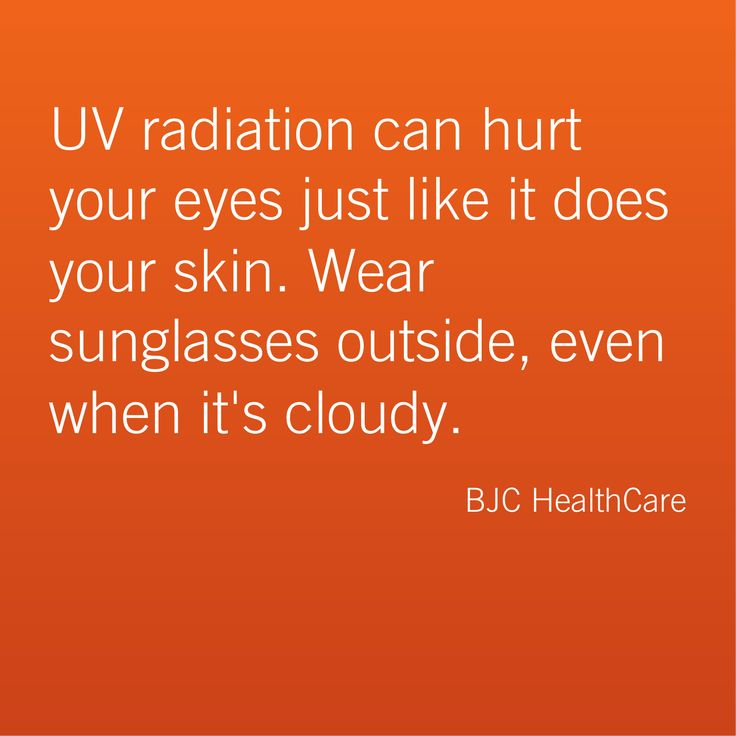 It's the best sunscreen there is for your eyes! #Eye #health tip