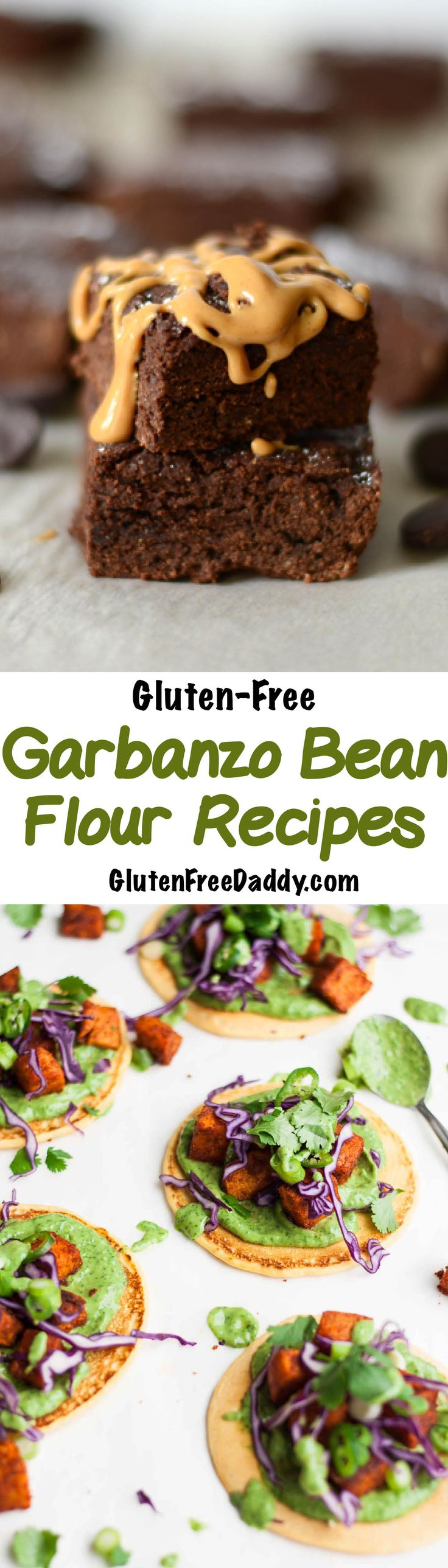 25 of the Best Gluten-Free Garbanzo Bean Flour Recipes. I love how garbanzo bean flour is a good source of protein and is naturally gluten-free and has a nutty, golden flavor.