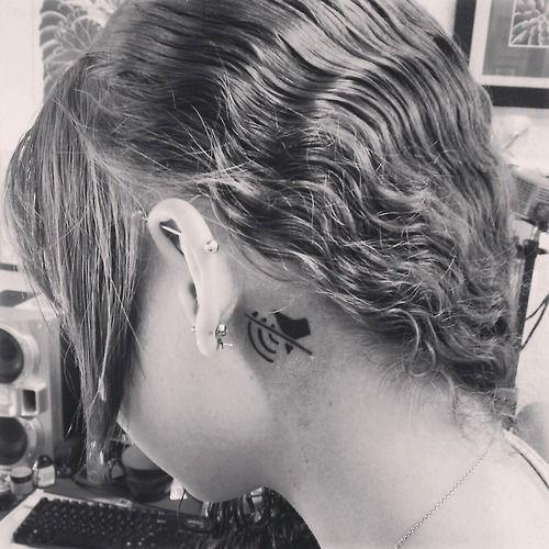 deaf symbol tattoo - photo #37
