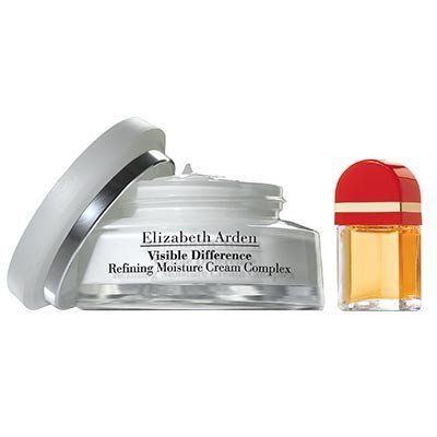 Elizabeth Arden VISIBLE DIFFERENCE Moisture Cream and red door set Cream 2.5oz + Red Door 0.8oz EDT spray by Elizabeth Arden. $29.98. Moisturizers. Elizabeth Arden VISIBLE DIFFERENCE Refining Moisture Cream 2 pc set. **No U.S. Sale Tax** Cream 2.5oz + Red Door 0.8oz EDT spray. New in Box. Elizabeth Arden VISIBLE DIFFERENCE Refining Moisture Cream 2.5oz + Red Door 0.8oz EDT spray Good for combination or dry skin. A rich, emollient protective formula for a difference you can s...