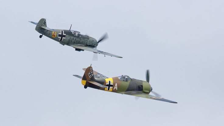 ME Bf109E-3 & FW190A-5 | by NewsyL