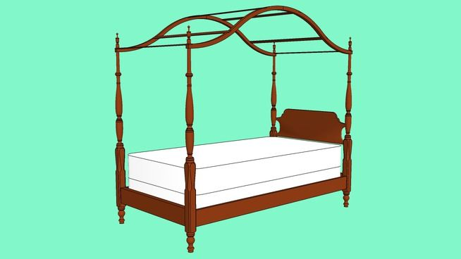 Four Poster Bed Plans Free Woodworking Projects Plans