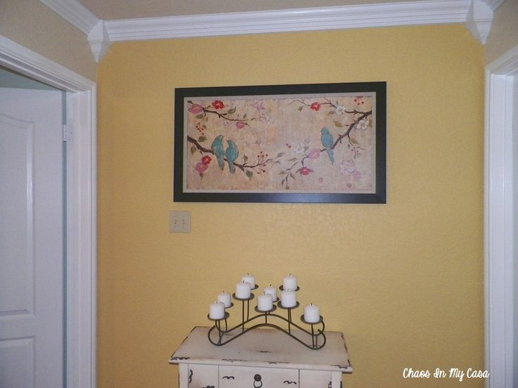 Benjamin Moore Gold Leaf - thinking this would make a nice kitchen color