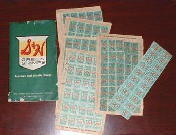 If you saved enough stamps you could buy about anything..It was like catalog shopping but instead of using $ you paid with stamps