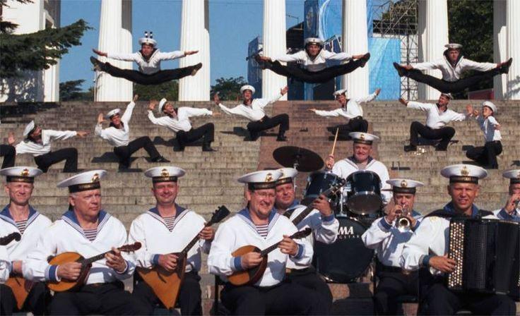 Soviet Union's Navy ensemble.