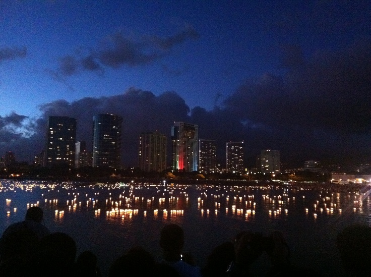 hawaii memorial day lantern ceremony 2015