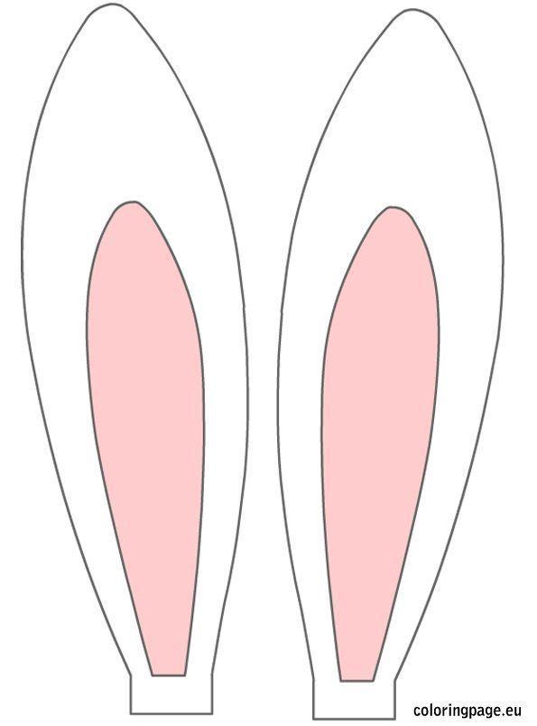 Oreilles De Lapin Imprimables Gratuitement Oreilles De Lapin De Paques Oeuf De Paques Ostern Geschenke Basteln Diy Ostern Klopapierrollen Basteln Ostern