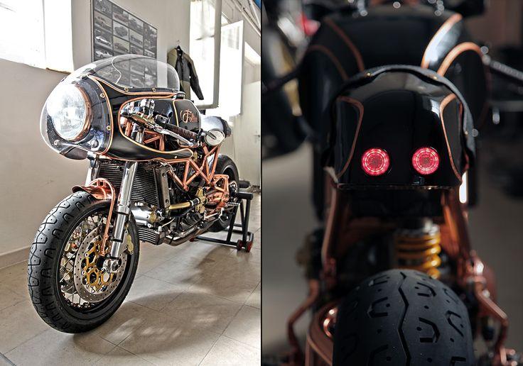 Marco's Ducati Monster 8