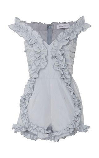 Alice McCall Stuck On You Ruffle Playsuit
