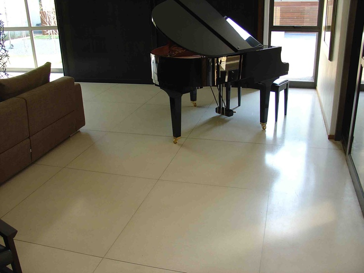 #In-situ #terrazzo floors offer a variety of colours and finishes and an extremely hard wearing surface. #UnionTiles