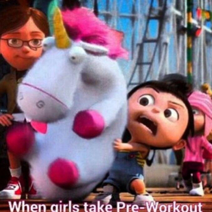 Fitness funny. When I take pre-workout shake