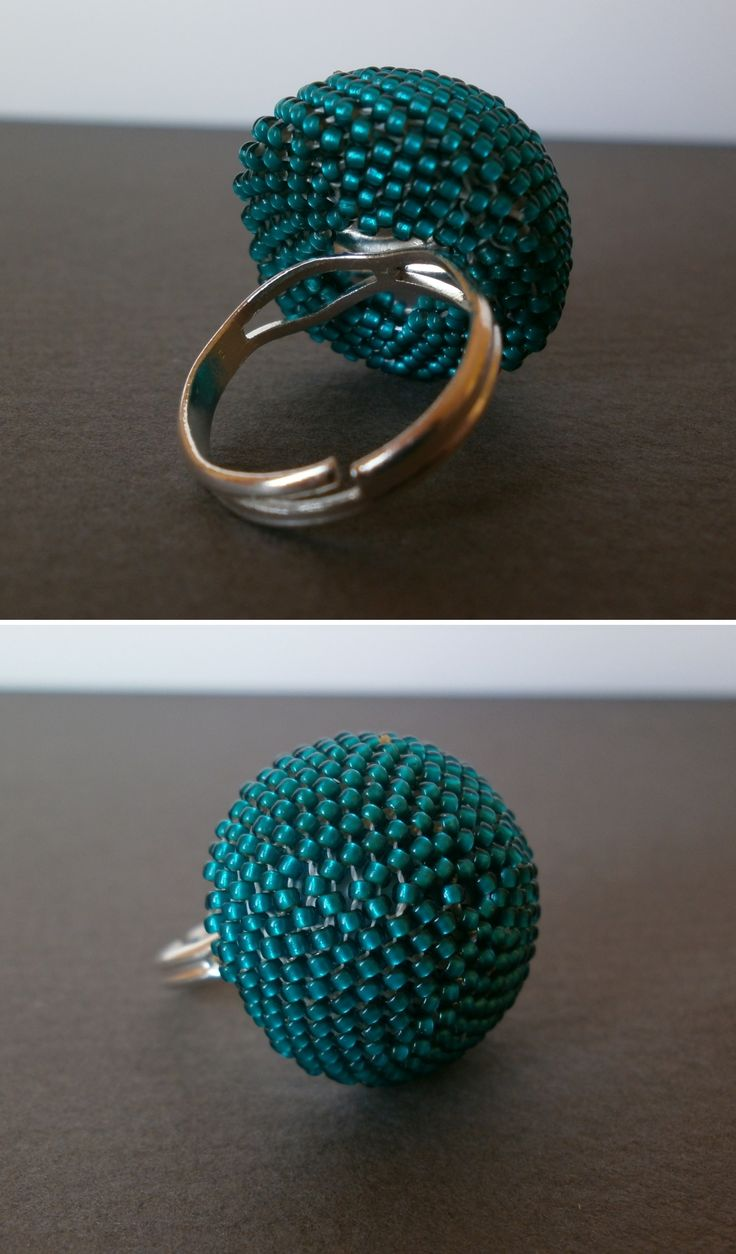 teal ring