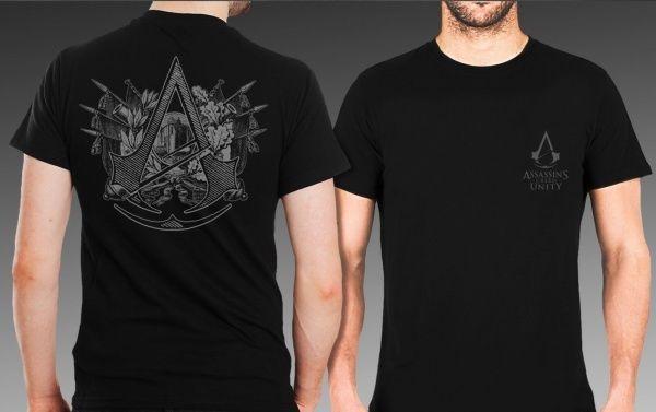 Rare Original Assassin's Creed: Unity T-Shirt (Size: M) #UnbrandedGeneric