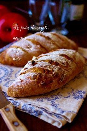 蜜りんごと生姜のライ麦パン by voisin [クックパッド] 簡単おいしい ...