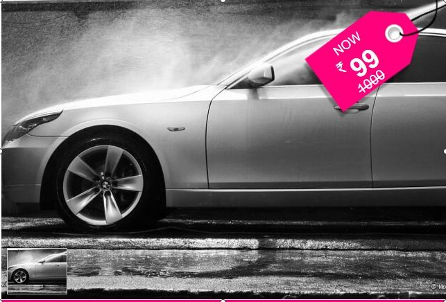 Ambattur: Car Grooming Package, 40 point check & Wheel care @ Maass Motors - UPTO 90% OFF..Rs.99 instead of up to Rs.3500 includes Complete Water wash, Vacuuming, Mat cleaning, Dashboard polishing, tyre polishing, wax polishing, 40 point check, wheel care & more - SAVE UPTO Rs.2800
