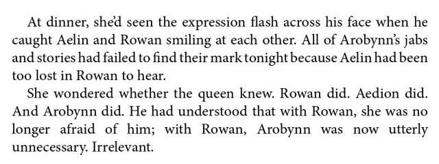 Rowaelin Honestly though, my strongest ship here was chaol. But then was also Dorian and then CAME Rowan.