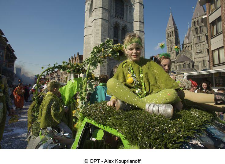 Carnival in Tournai - Belgium