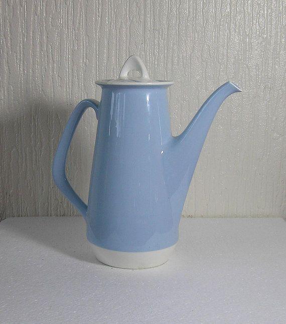 vintage figgjo flint of norway crocus coffee pot by DutchTrader, £25.00