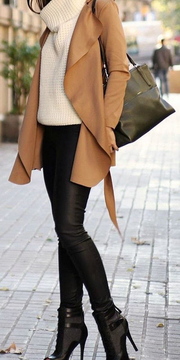 50 Fashionable Winter Outfit Ideas 13