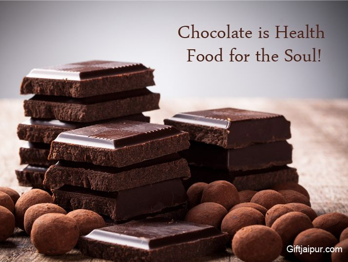 Chocolate is Health Food for the Soul !