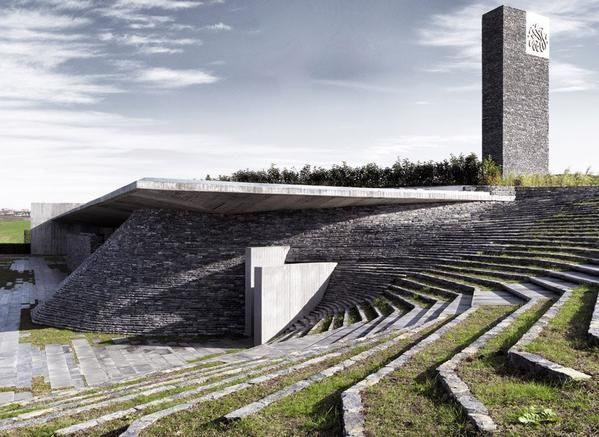 Die Sancaklar Moschee wurde zu einem der besten Designs des Jahres 2015 gewählt