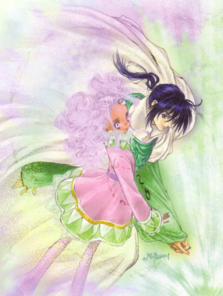 Tales of Eternia illustration by Mutsumi Inomata