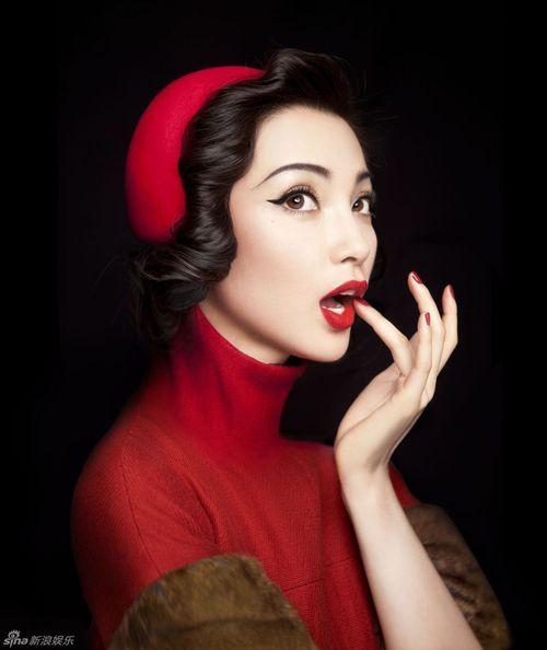 Li Bingbing photographed by Chen Man
