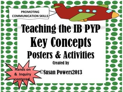 IB+Key+Concepts+Posters+and+Activties+from+Cool+Teaching+Tools+on+TeachersNotebook.com+-++(37+pages)++-+ye-catching+and+fun!+This+36+page+packet+of+classroom+posters+and+activities.+The+colorful,+printable+posters+are+designed+to+educate+the+children+on+the+Key+Concepts+used+within+the+International+Baccalaureate's+PYP.+By+familiarising+my+students+with+the