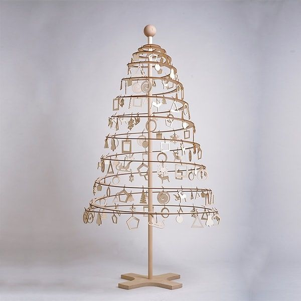 Spira Christmas Tree From Apollo Box In 2020 Combo Kit Christmas Tree Wooden Decor