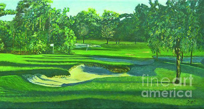 Hole par 3 golf course by Dori Sanz