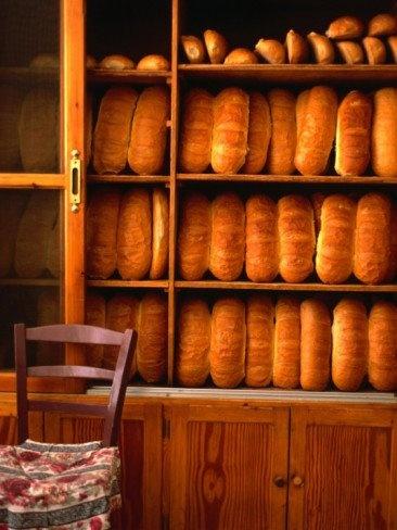 Bread shop in Chania Crete, Greece