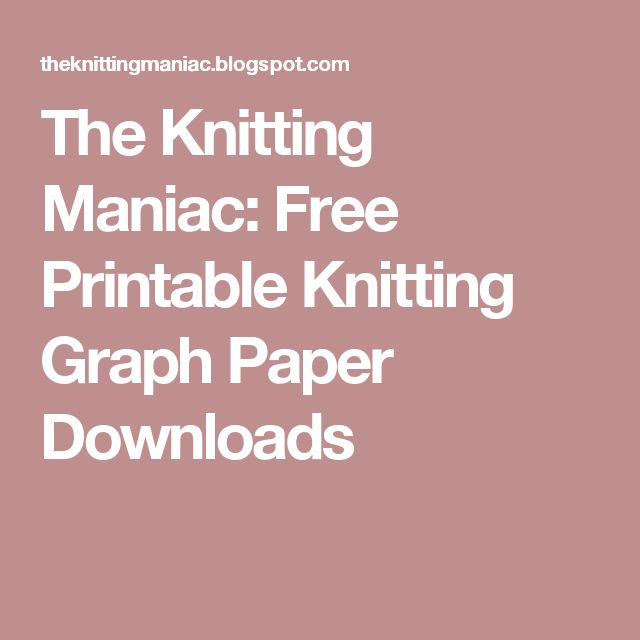 Knitting Font Free Download : Best knitting graph paper ideas on pinterest