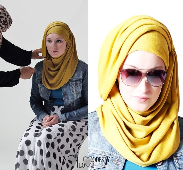 I love sunglassed with hijab! This hjijab style looks really nice even if it seems to take some time to wrap. I wonder if it stays on place.