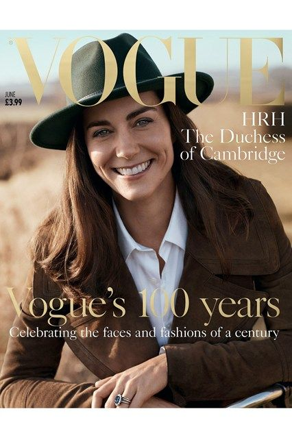 The Duchess of Cambridge is Vogue's Centenary cover star - click through to see more from the shoot