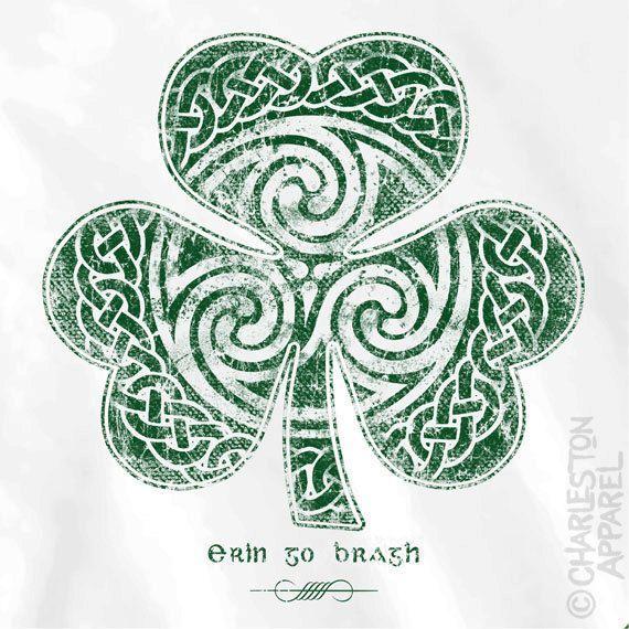 Best 25+ Celtic Clover Tattoos Ideas On Pinterest