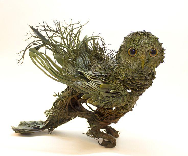 Best Ellen Jewett Sculptures Images On Pinterest Animal - Surreal animal plant sculptures ellen jewett