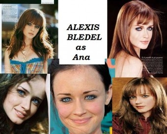 Ana Steele. @jessica wenstrup !! i could see this actually!