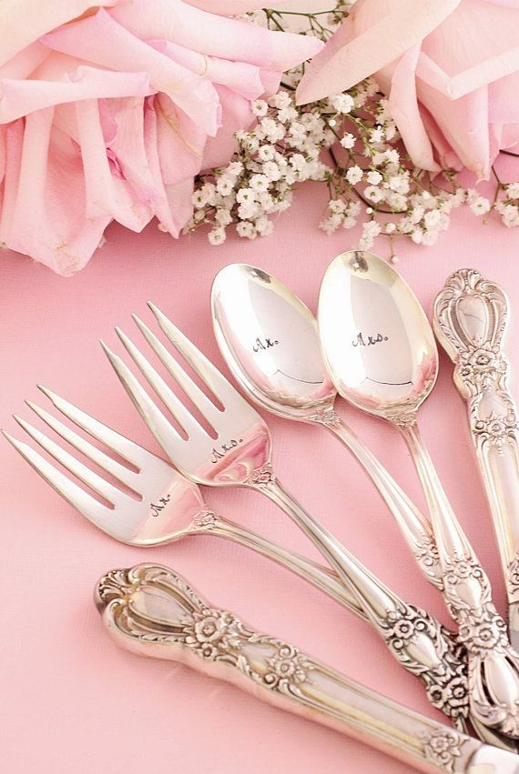 ❥Pink❥ Cutlery set
