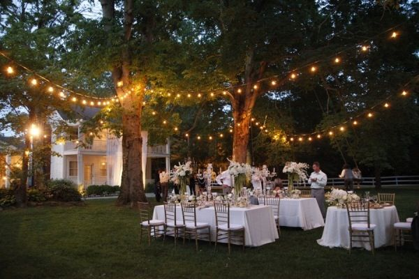 Love this for a backyard wedding