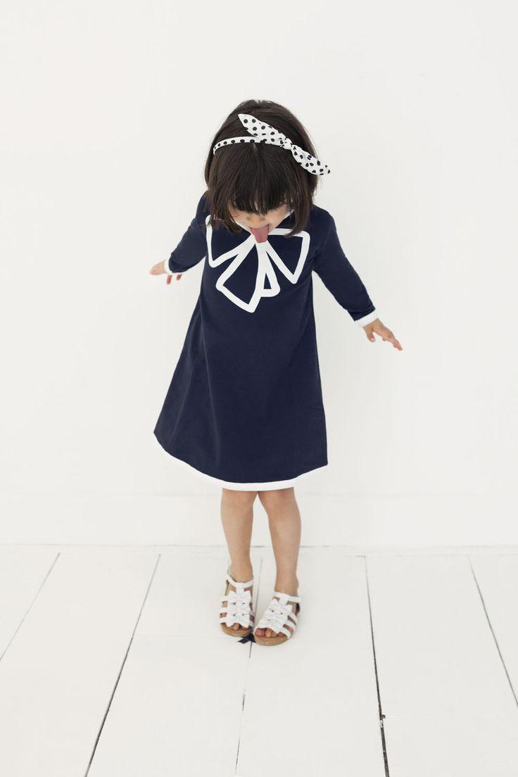 Royal Pea Dress Blue