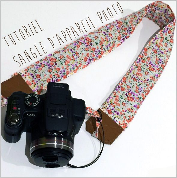 Tutoriel sangle appareil photo