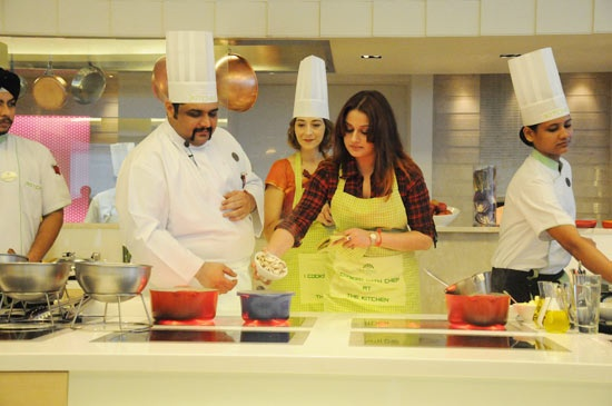 Cooking    Sonia Agarwal at Cooking Show Gallery