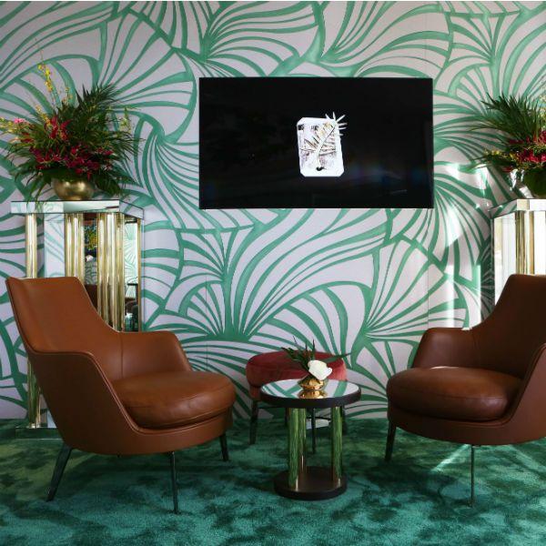 Die Luxus-Suite wurde von Flexform eingerichtet