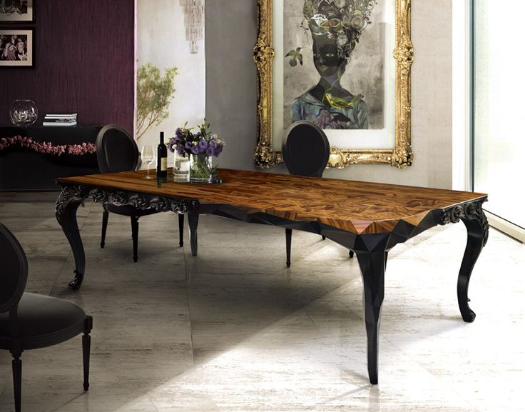 The Royal Dining Table Embodies Boca Do Lobos True Essence From Its Exceptional Modern Design