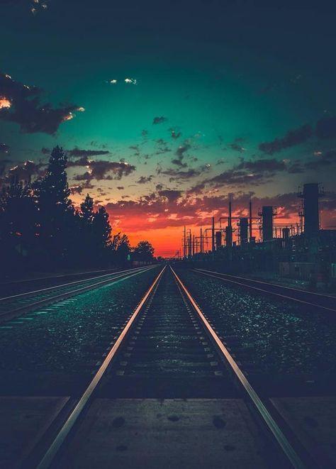 """Dieses Bild erinnert mich an die Serie """"Fremde Dinge"""" – Multivi – #Multivi …   – Sonnenuntergang – #Bild #die #dieses #Dingequot"""