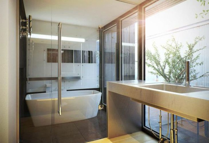 Stylish Bathroom Design - pictures, photos, images